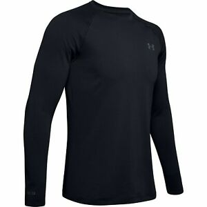 Under-Armour-1343244-Men-039-s-UA-ColdGear-Base-2-0-Top-Baselayer-Crew-Shirt-Black