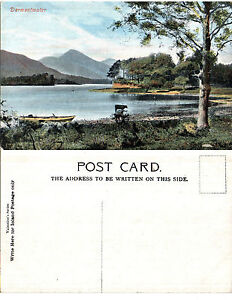 1920-039-s-DERWENTWATER-CUMBRIA-UNUSED-COLOUR-POSTCARD
