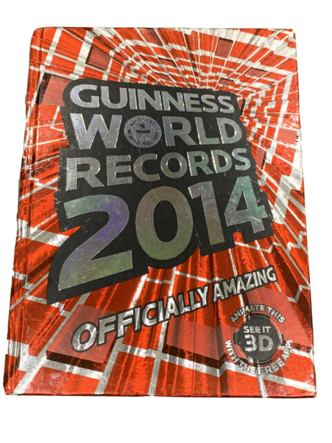 Guinness World Records 2014 by Guinness World Records *Excellent Condition*