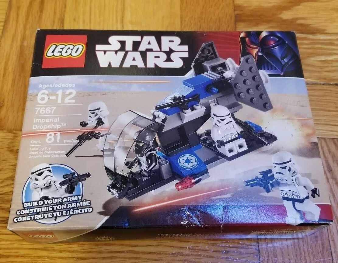 LEGO Star Wars Imperial Dropship 7667 New In Box Seraled Seraled Seraled dc0626