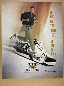 King King Burger British 1990 Knights 1990 vintage Chaussures Chaussures d'impression British Burger Annonce Knights ZYAwxn6n0