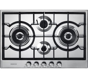 KENWOOD KHG704SS Gas Hob - Stainless Steel - Currys