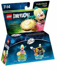 Lego Dimensions 71227 Simpson Krusty Fun Pack NEW & BOXED