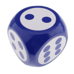Дети гигант 7.8' синий мягкая пена игры кости для настольная игра преподавания математики