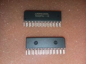 10x-MITSUBISHI-M5M4C264AL-12N-256K-DUAL-PORT-DYNAMIC-RAM-120ns-24-PIN-ZIP-IC