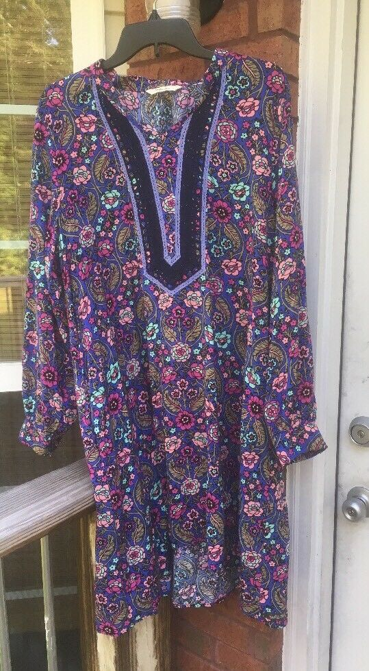 Matilda Jane Dress Floral Women's Medium-Large B1