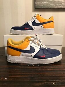 High Quality Nike Air Force 1 07 Lv8 White Black Red 823511 404 Men's Women's Casual Shoes Sneakers