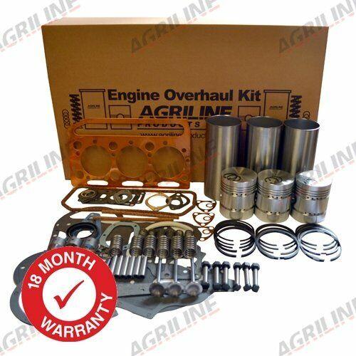 3 Cilindros Cromo los trazadores de líneas Massey Ferguson 35-motor revisión Kit