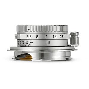 New Unused Leica Summaron-M 28mm F5.6 f/5.6 ASPH Silver 6-Bit M 240 M9 M10 11659