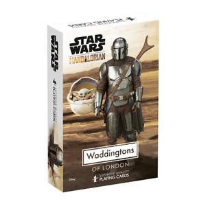Waddingtons Star Wars The Mandalorian Playing Cards NEW