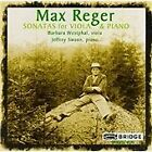 Max Reger - : Sonatas for Viola and Piano (1997)