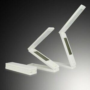 Elegant folding LED table lamp rechargeable portable dimmable led desk lamp