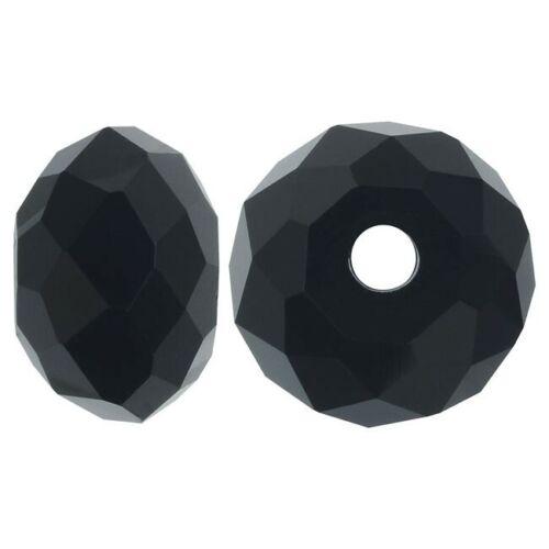 Tschechische Kristall Perlen Rondell 10 x 8 mm 15stk Glasperlen Schmuck Wählen