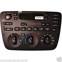 2005-2007 Ford Taurus Front Radio And A/c Control Panel 5f1z18c858ba