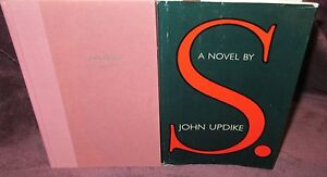 S-a-novel-by-John-Updike-HbDj-1988-Humor-Wit-Knowledge-Wisdom-HERE-in-MELB