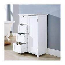 Item 4 White Wooden Furniture Bathroom Cabinet Shelf Cupboard Bedroom  Storage Unit  White Wooden Furniture Bathroom Cabinet Shelf Cupboard Bedroom  Storage ...