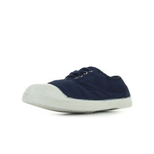 b486544dfd431b Chaussures Baskets Bensimon femme Ten Lacet Marine taille Bleu ...