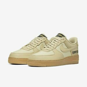 Nike-Air-Force-1-GTX-Gore-Tex-Team-Gold-Khaki-Mens-Casual-Shoes-AF1-CK2630-700