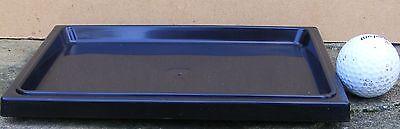 BONSAI POT SUIBAN/DRIP TRAY PLASTIC 21.5cm