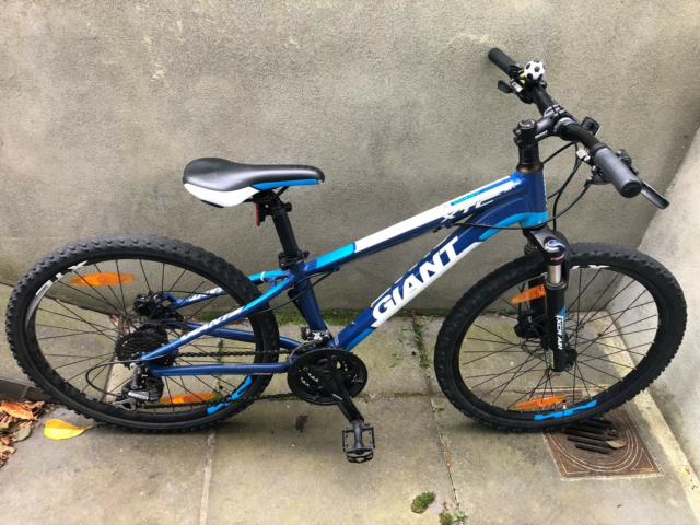 "Drengecykel, mountainbike, Giant, XTC JR 24"", 24 tommer…"