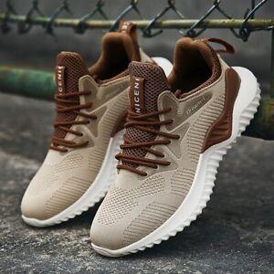 Detalles de Zapatillas deportivas correr hombre caminar calzado deporte vestir comodas moda