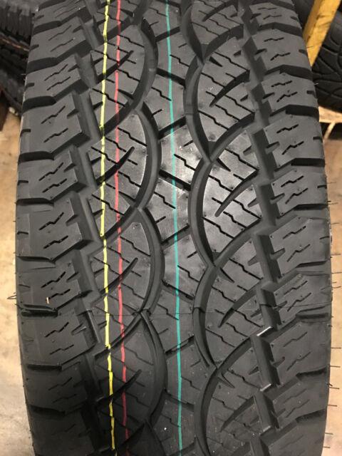 4 285 70r17 Centennial Terra Trooper A T Tires 285 70 17 R17 2857017