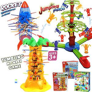 Verniciatura-a-Buratto-scimmia-e-dello-spazio-della-nave-DROP-Rocket-GIOCO-tirare-fuori-bastoni