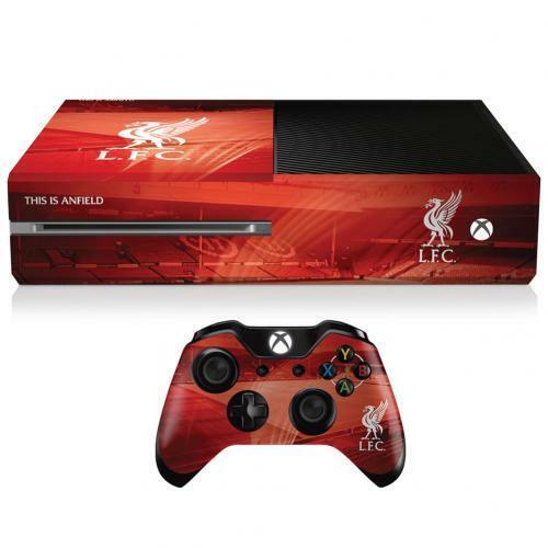 LIVERPOOL FC Xbox 1 Skin Sticker Bundle Controller And Console Skin