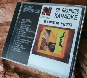 Karaoke-cdg-disc-BMB-Nikkodo-SAV-P33-Super-Hits-NEW-see-descript-19-trks-arts