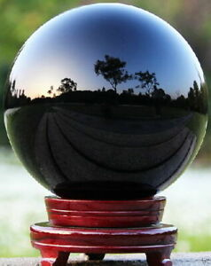 40-100mm-Natural-Black-Obsidian-Sphere-Large-Crystal-Ball-Healing-Stone