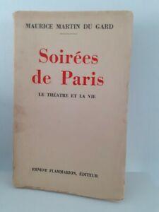Signed Evenings Of Paris Maurice Martin The Gard Flammarion 1932+ Mail