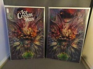 Ice Cream Man #22 John Giang Exclusive SET! Virgin And Trade W/ COA in hand