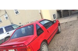 1987 Nissan pulsar cost 12$/month to plate