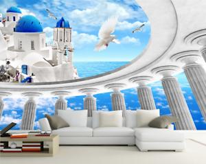 3D Kreativer Raum 753 Tapete Wandgemälde Tapete Tapeten Bild Familie DE Summer