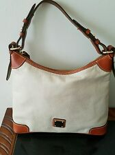 NWOT Dooney & Bourke Cream/Tan Handbag