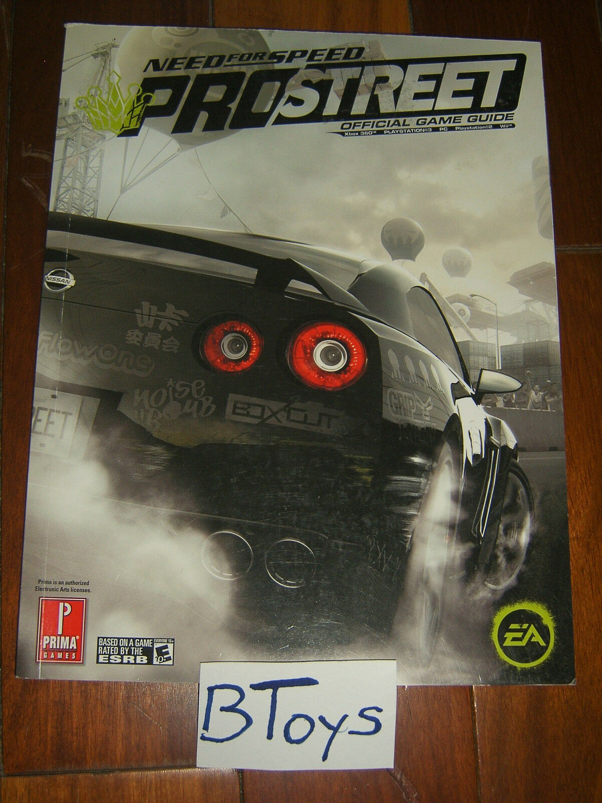need for speed pro street official strategy guide ps3 360 pc wii ps2 rh integratedunderdress top Prima Games BF4 Bow Prima Games BF4 Bow