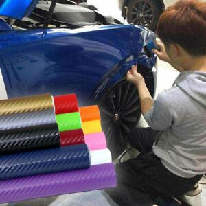 3D-127x30cm-Carbon-Fiber-Vinyl-Car-Wrap-Sheet-Roll-Film-Sticker-Decal