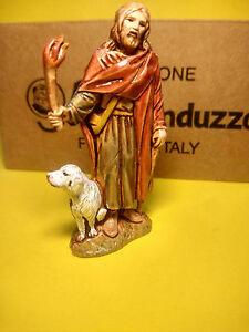 1 Pastore Landi Italia cm 6,5 Viandante con fiaccola Moranduzzo presepe napoli