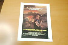 PETER STRAUSS SPACEHUNTER ADVENTURES IN THE FORBIDDEN ZONE 1980 RARE SYNOPSIS