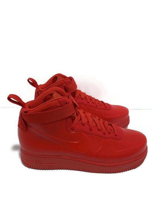 Men's Nike Air Force 1 Foamposite Cup Na Triple Red BB1172 600 Size 11