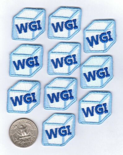 """10-Pack /""""on a glace/"""" Baseball ou Softball iron on patches-GTI"""