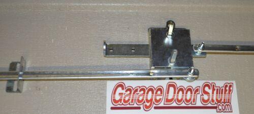 Garage Door Lock Set  1 Car Door Torsion or Extension Spring