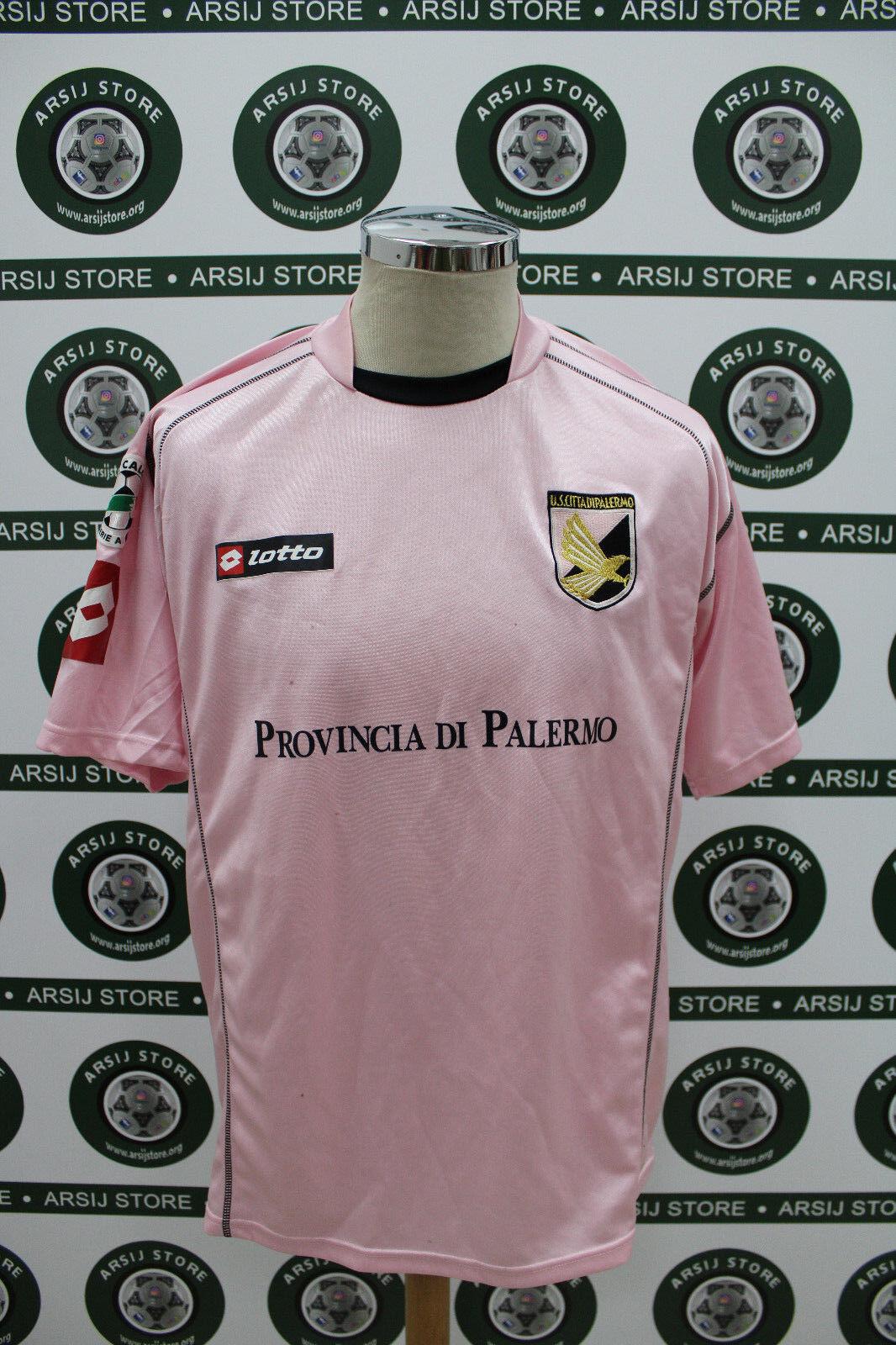 Maglia calcio shirt maillot camiseta trikot PALERMO CARACCIOLO TG XL