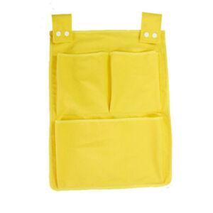 Cotton-Pocket-Crib-Bedding-Set-Baby-Toy-Diaper-Cot-Storage-Organizer-BE