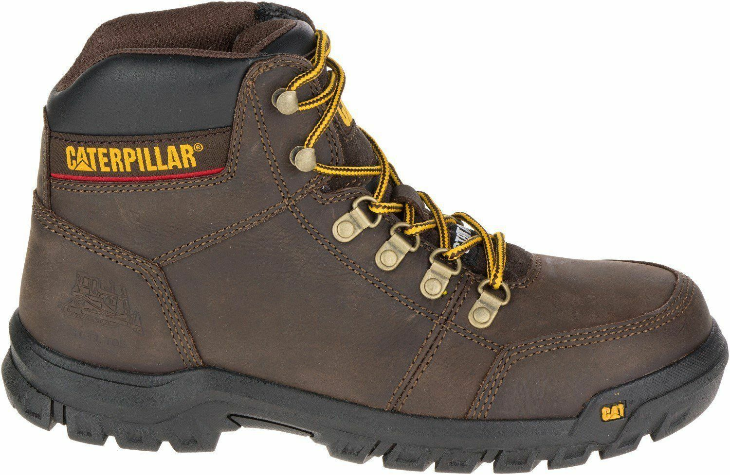 Caterpillar Brand New Uomo - P74087 Outline--Soft Toe- Seal Brown