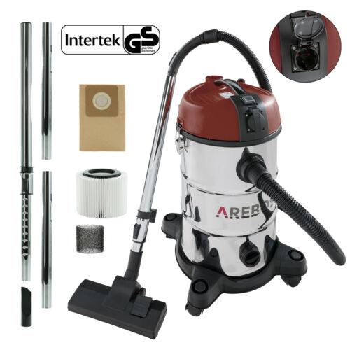 Arebos Industrial Vacuum Cleaner Wet & Dry Vacuum Cleaner 2300W 30L Red