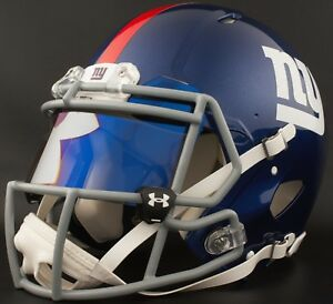 69031aea Details about NEW YORK GIANTS NFL Authentic GAMEDAY Football Helmet w/ UA  LOGO Eye Shield