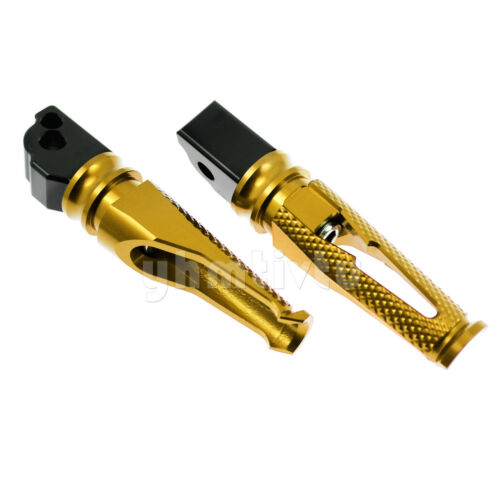 Passenger Rear Foot Pegs Pedal Rest w// 8mm Hole For BMW S1000R S1000RR S1000XR