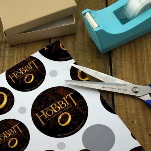 The Hobbit An Unexpected Journey Logo Premium Gift Wrap Wrapping Paper Roll