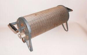 Ancienne-DDR-Chauffage-Radiateur-Electrique-Auxiliaire-Deco-Loft-Vintage